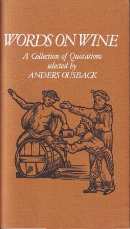 Words on Wine. Anders Ousback.