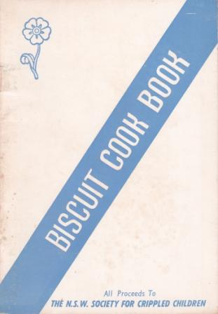 """""""Forget-me-Not"""" Biscuit Cook Book (65th). The Central Council of the Women's Auxiliaries."""