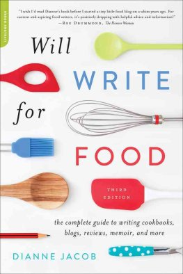 Will Write for Food: 3E. Dianne Jacob.