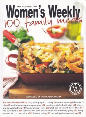 AWW: 100 Family Meals. Pamela Clark.