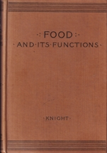 Food & Its Functions. James Knight