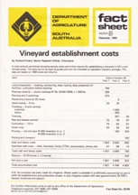 Vineyard Establishment Costs. Richard Cirami