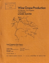 Wine Grap Production Lower Hunter (115h). Graham Kaye, Rod Logan